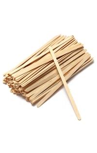 Деревянные палочки для размешивания напитков