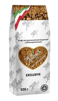 Кофе растворимый Nero Aroma Caffe Exclusive 500 г
