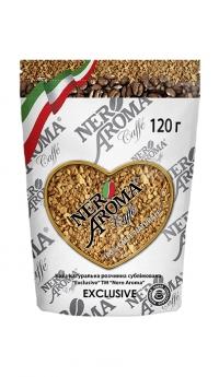 Розчинна кава Nero Aroma Caffe Exclusive 120 г
