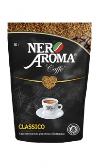 Кофе растворимый Nero Aroma Caffe Classico 60 г