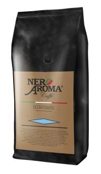 Кофе в зернах Nero Aroma Caffe Decaffeinato