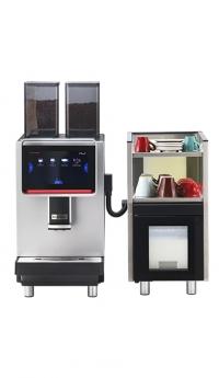 Кофемашина Dr.Coffee F2  с холодильником