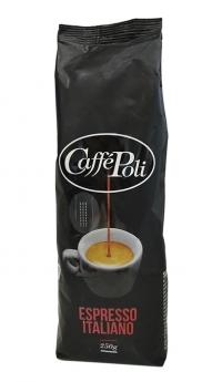 Кофе в зернах Caffe Poli Espresso Italiano Nero 250