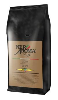 Зернова кава Nero Aroma Caffe Etiopia Bebeka