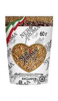 Кофе растворимый Nero Aroma Caffe Exclusive 60 г