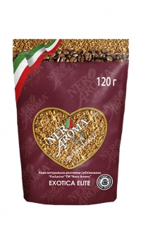 Кофе растворимый Nero Aroma Caffe Exotica Elite 120 г