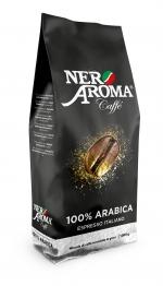 Зернова кава Nero Aroma Caffe 100 % Arabica Exclusive