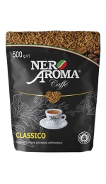 Розчинна кава Nero Aroma Caffe Classico 500 г