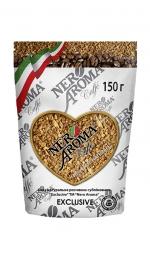 Розчинна кава Nero Aroma Caffe Exclusive 150 г