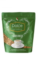Кофе растворимый Dolce Aroma Gusto Ricco 400 г