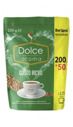 Кофе растворимый Dolce Aroma Gusto Ricco 250 г