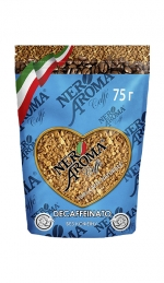 Розчинна кава Nero Aroma Caffe Decaffeinato 75г