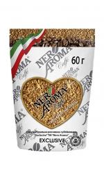 Розчинна кава Nero Aroma Caffe Exclusive 60 г