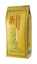 Зернова кава Caffe Felice Oro